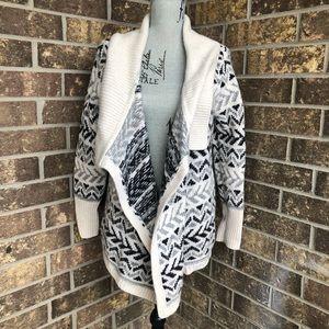 Ellen Tracy Lamb Wool Cardigan Size L
